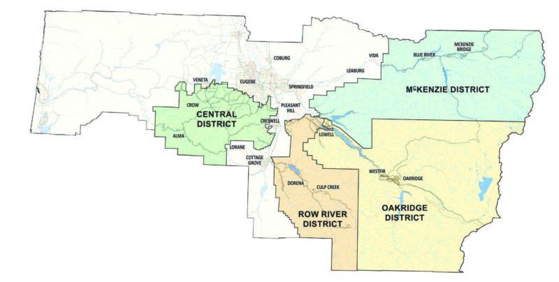 District meetings map
