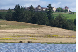 King Estate Winery and solar panels