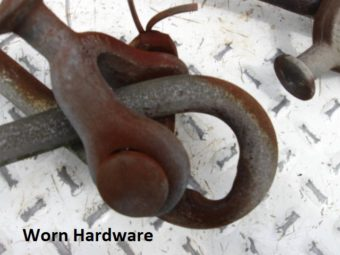 Worn Hardware