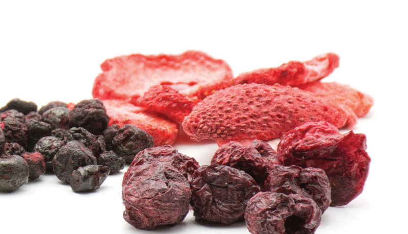 Freeze dried berries
