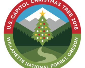 U.S. Capitol Christmas Tree 2018. Willamette National Forest, Oregon.